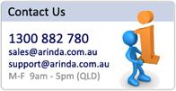 Contact Arinda Internet
